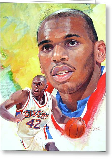 Jerry Stackhouse Greeting Card