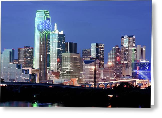Jerry's Dallas Skyline Greeting Card