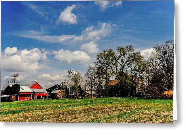 Greeting Card featuring the photograph Jersey Jerrys Apple Farm by Louis Dallara