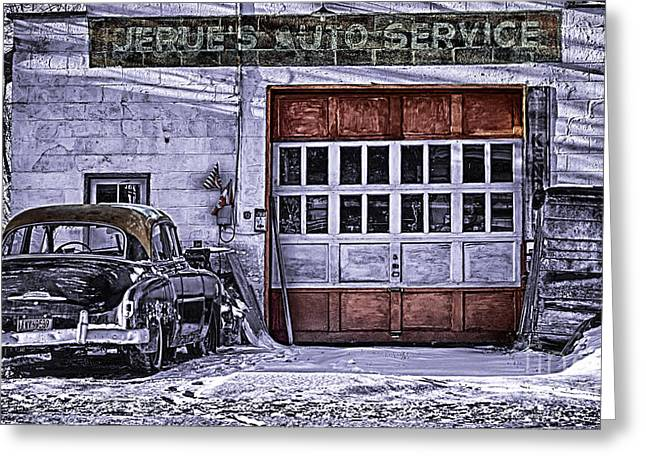 Jerues Auto Service Greeting Card