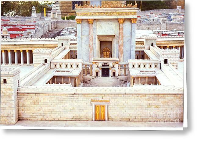 Jerusalem 70 Ad Greeting Card by Thomas R Fletcher