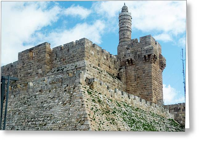 Jerusalem Old City 2 Greeting Card