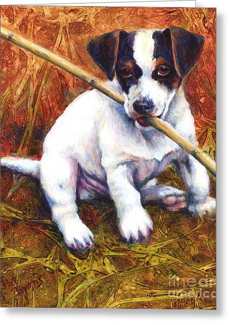 Jesse James Greeting Card by Pat Burns