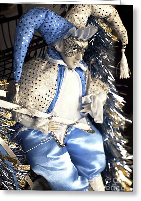 Jester Infrared Greeting Card