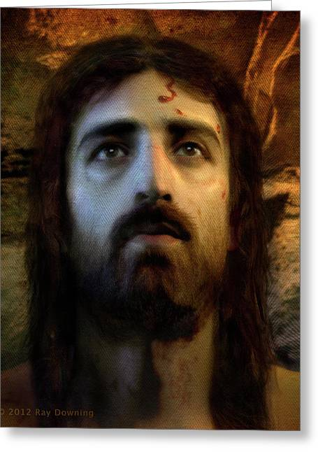 Jesus Alive Again Greeting Card