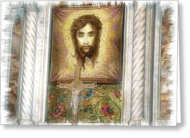 Jesus I Greeting Card