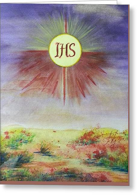 Jesus Makes All Things New Greeting Card