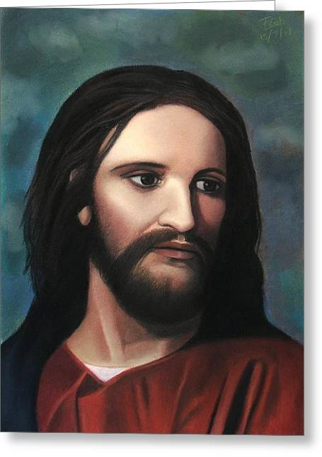 Jesus Of Nazareth - King Of Kings Greeting Card