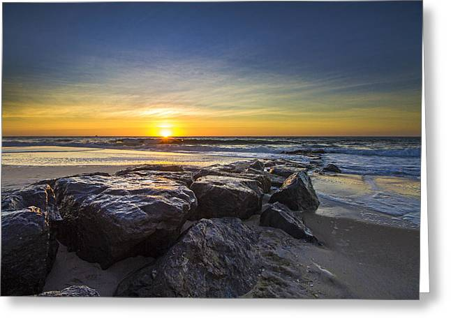 Jetty Four Sunrise Greeting Card
