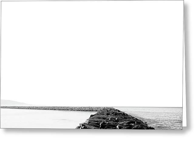 Jetty No. 02 Greeting Card
