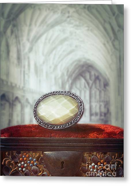 Jewel Casket Greeting Card