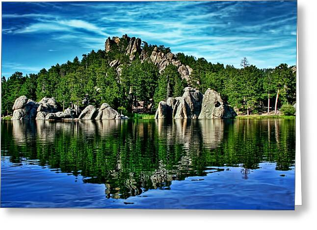 Jewel Of The Black Hills Greeting Card by Ellen Heaverlo