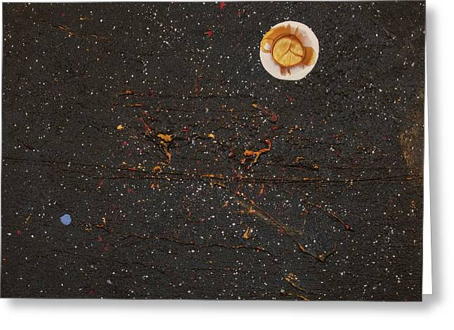 Greeting Card featuring the painting Jewel Of The Night by Michael Lucarelli