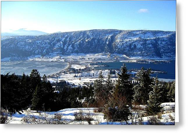 Okanagan Valley Greeting Cards - Jewel Of The Okanagan Greeting Card by Will Borden