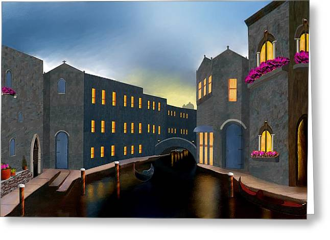 Jewel Of Venice Greeting Card