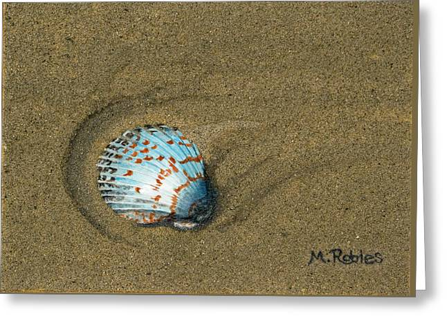 Jewel On The Beach Greeting Card by Mike Robles