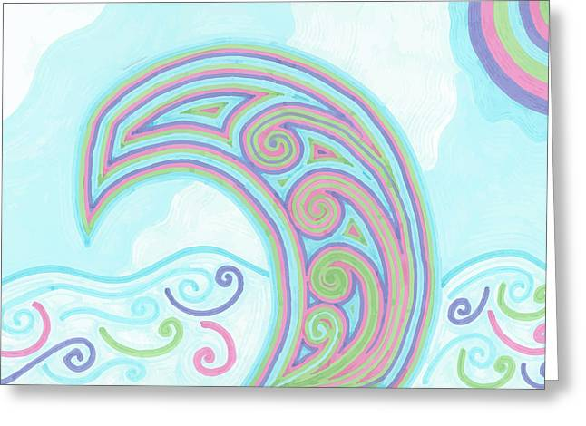 Jewel Sea Greeting Card