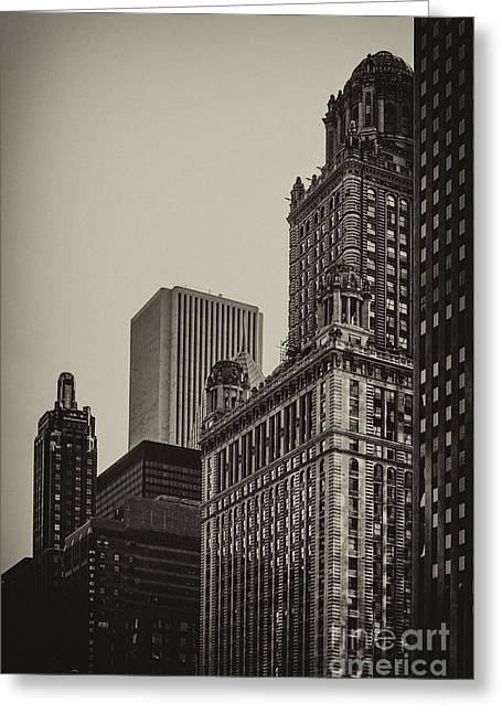 Jewelers Building Greeting Card by Andrew Paranavitana