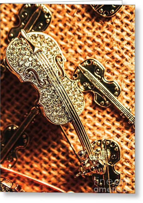 Jewellery Concerto Greeting Card
