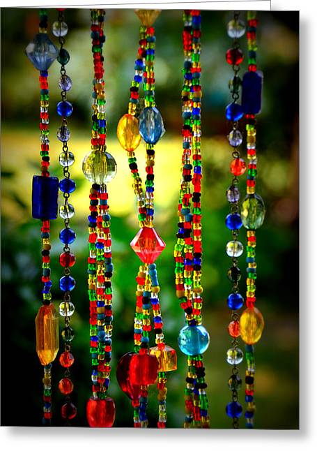 Jewels In The Sun Greeting Card