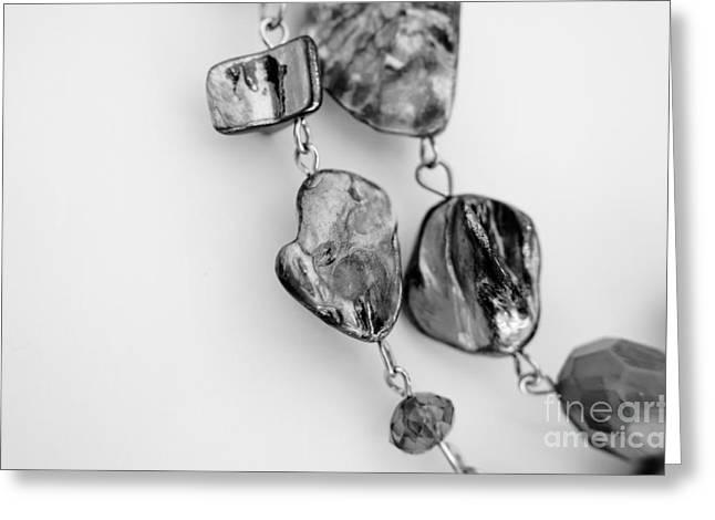 Jewels Greeting Card by Lisa Killins