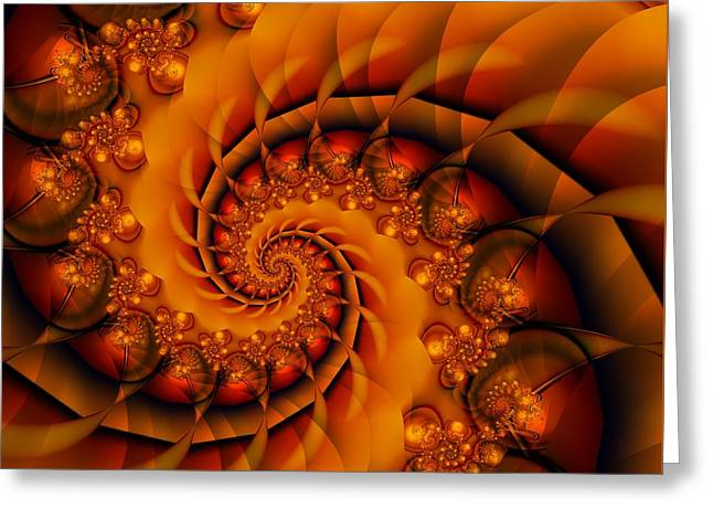Jewels Of Autumn Greeting Card