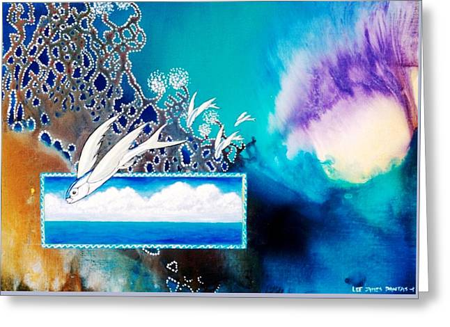 Jewels Of The Sea Greeting Card by Lee Pantas