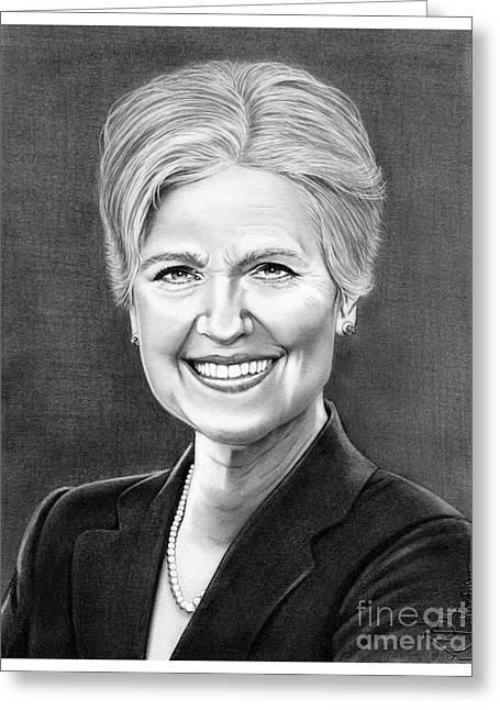 Jill Ellen Stein Greeting Card by Murphy Elliott