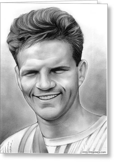 Jim Elliot Greeting Card by Greg Joens