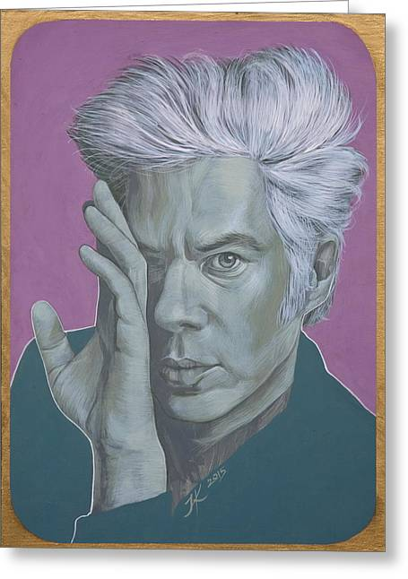 Jim Jarmusch Greeting Card by Jovana Kolic