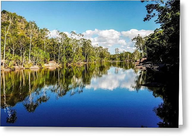 Jim Jim Creek - Kakadu National Park, Australia Greeting Card