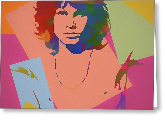 Jim Morrison The Doors  Greeting Card
