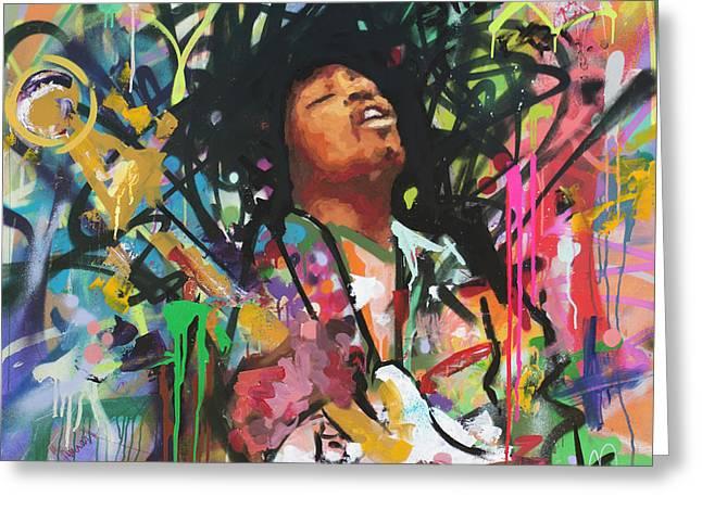 Jimi Hendrix IIi Greeting Card