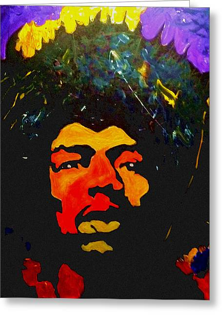 Jimi The Man Greeting Card