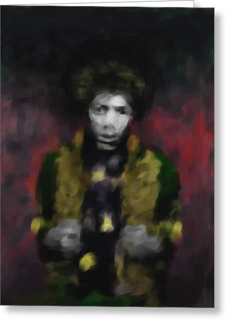 Jimmi Hendrix 550 2 Greeting Card
