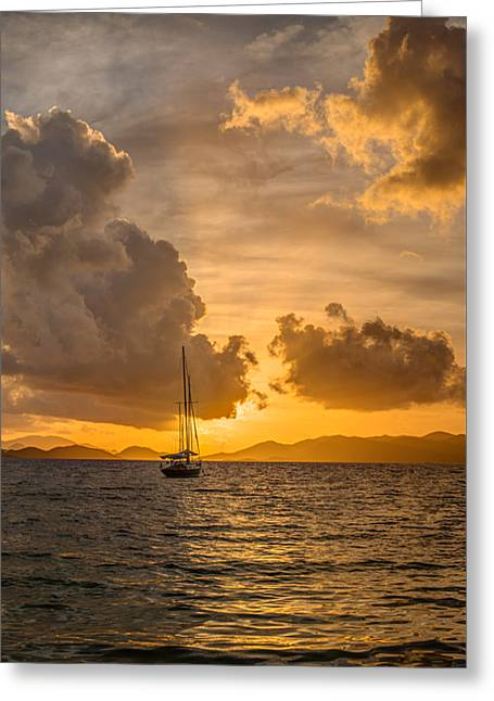 Jimmy Buffet Sunrise Greeting Card