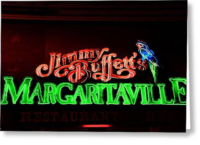 Jimmy Buffett's Margaritaville Greeting Card