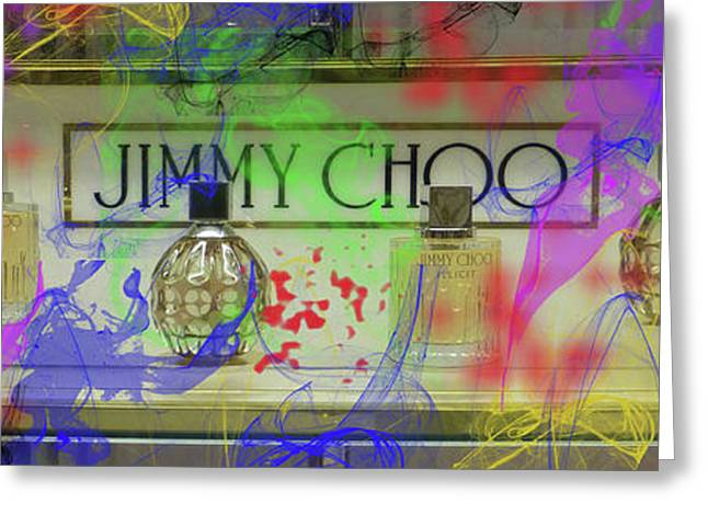 Jimmy Choo Perfumes Greeting Card