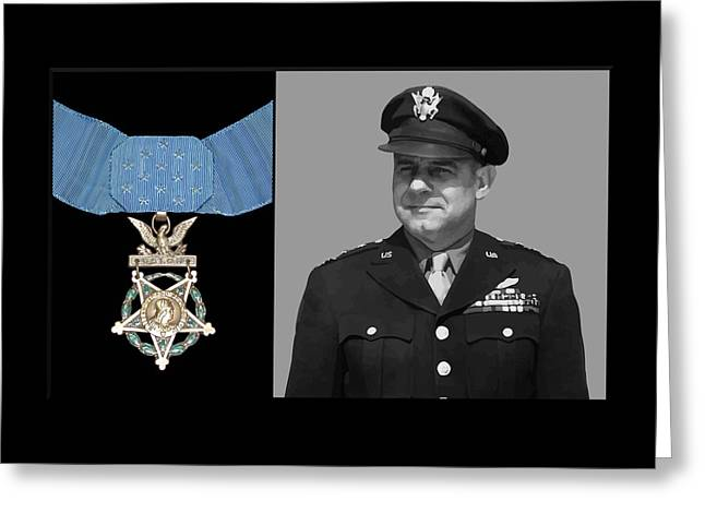 Jimmy Doolittle And The Medal Of Honor Greeting Card