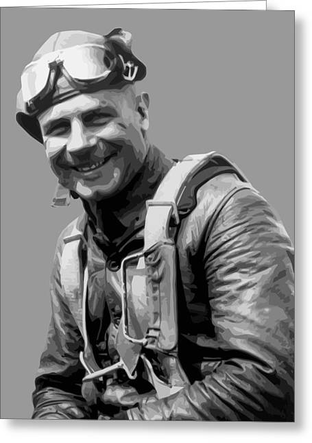 Jimmy Doolittle Greeting Card by War Is Hell Store