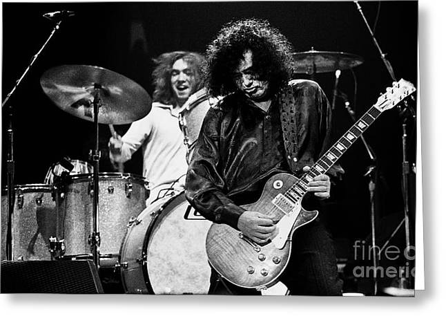 Jimmy Page-0057 Greeting Card