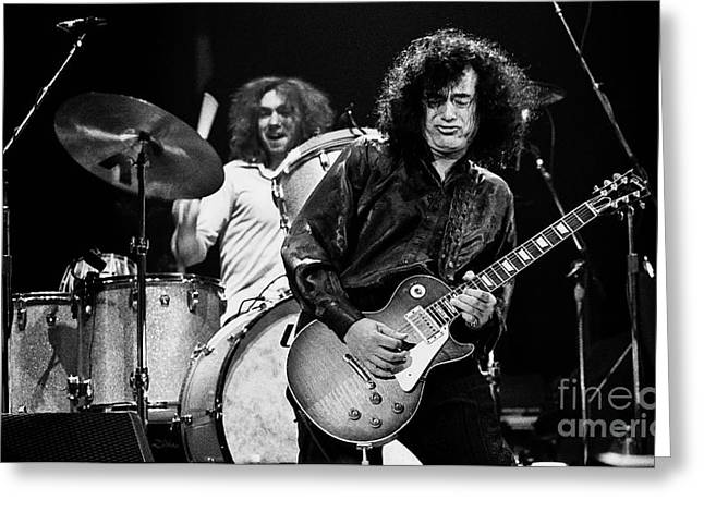 Jimmy Page-0058 Greeting Card