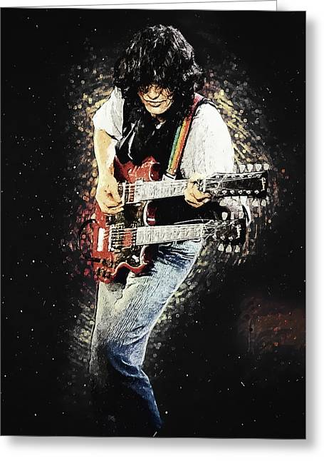 Jimmy Page II Greeting Card