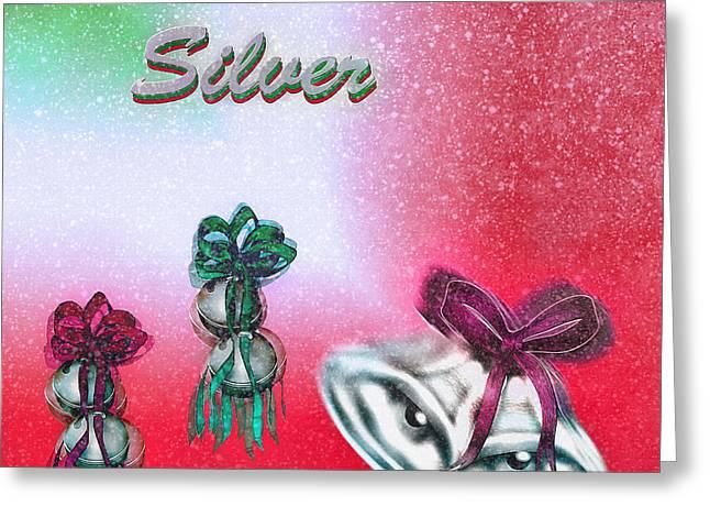 Jingle Bells - Silver Bells Greeting Card