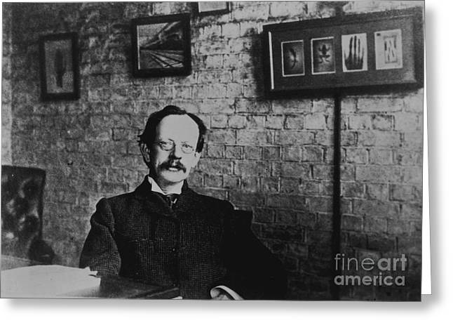 J.j. Thomson, English Physicist Greeting Card by Science Source