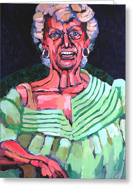 Joan Kierkegaard Greeting Card