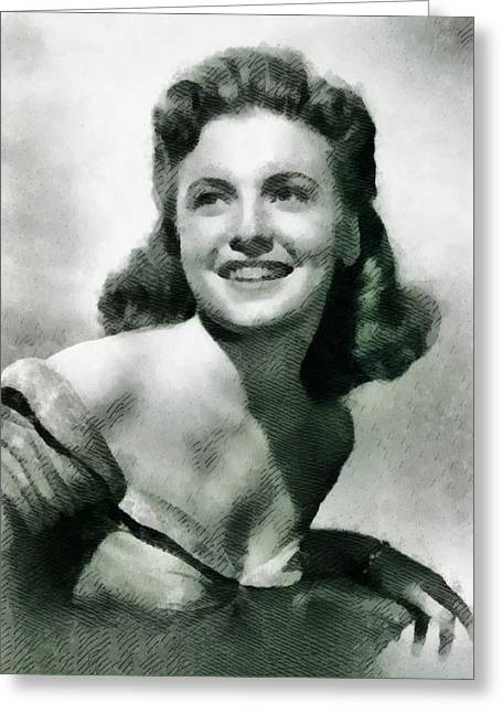 Joan Leslie, Actress Greeting Card