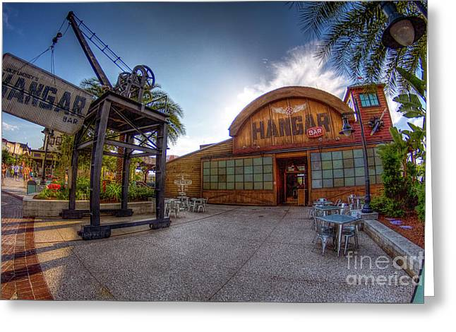 Jock Lindsey's Hangar Bar Greeting Card