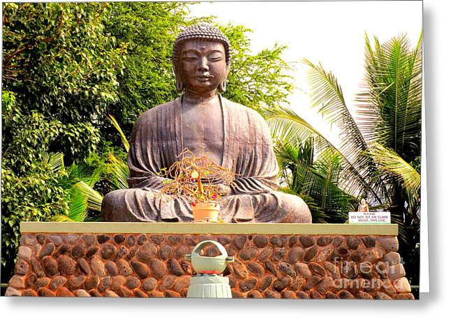 Jodo Mission Lahaina 8 Greeting Card