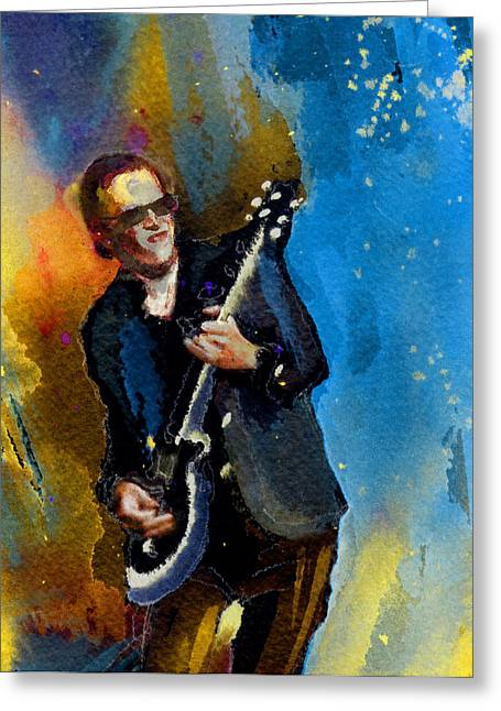 Joe Bonamassa 03 Bis Greeting Card